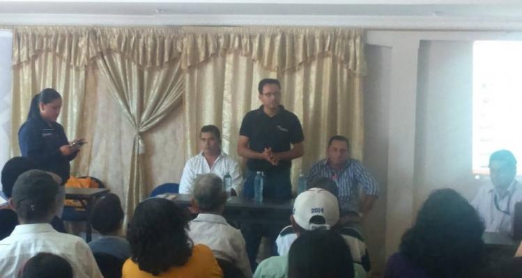 REUNIÓN CON SETEDIS GAD PARROQUIAL Y TENENCIA POLÍTICA.